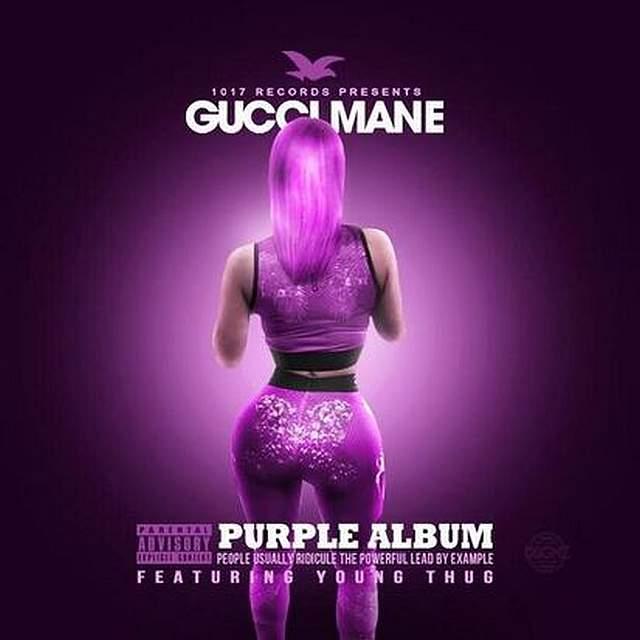 Gucci Mane - The Purple Album cover