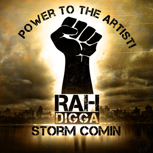 Rah DIgga - Storm Comin cover