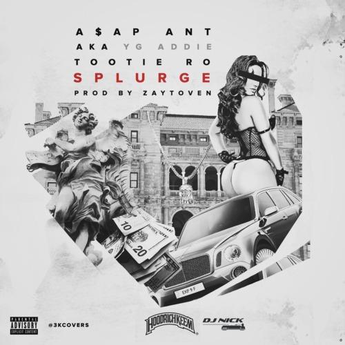 A$AP Ant - Splurge cover