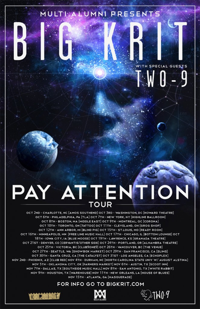 Big KRIT - Pay Attention Tour (1)