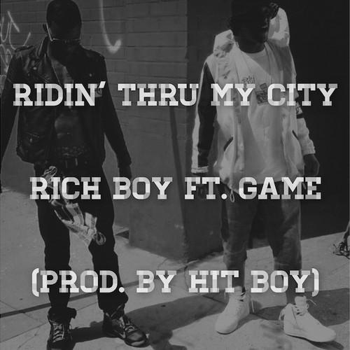 Rich Boy - Ridin cover