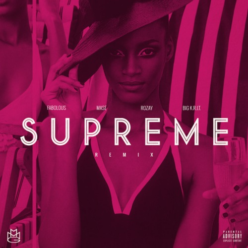 Rick Ross - Supreme remix cover