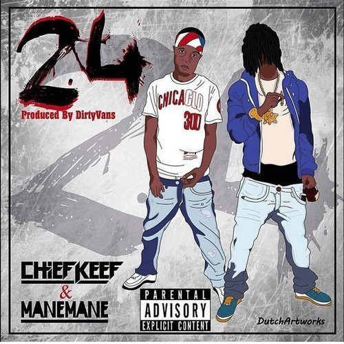 Chief Keef - 24 cover