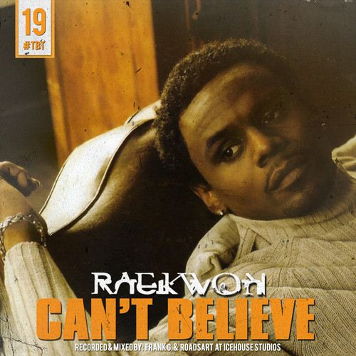 Raekwon - Can't Believe cover