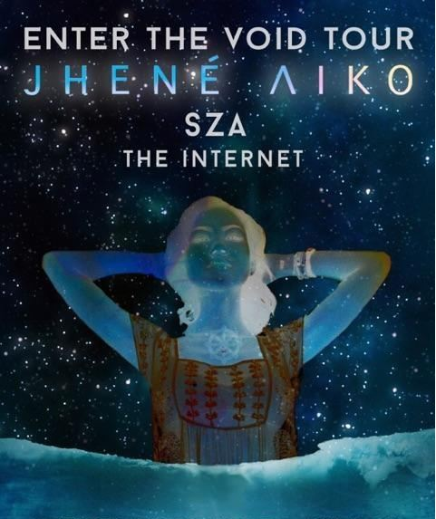 Jhene Aiko - Enter The Void tour