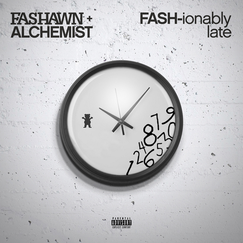 Fashawn & Alchemist - FASH-ionably Late cover