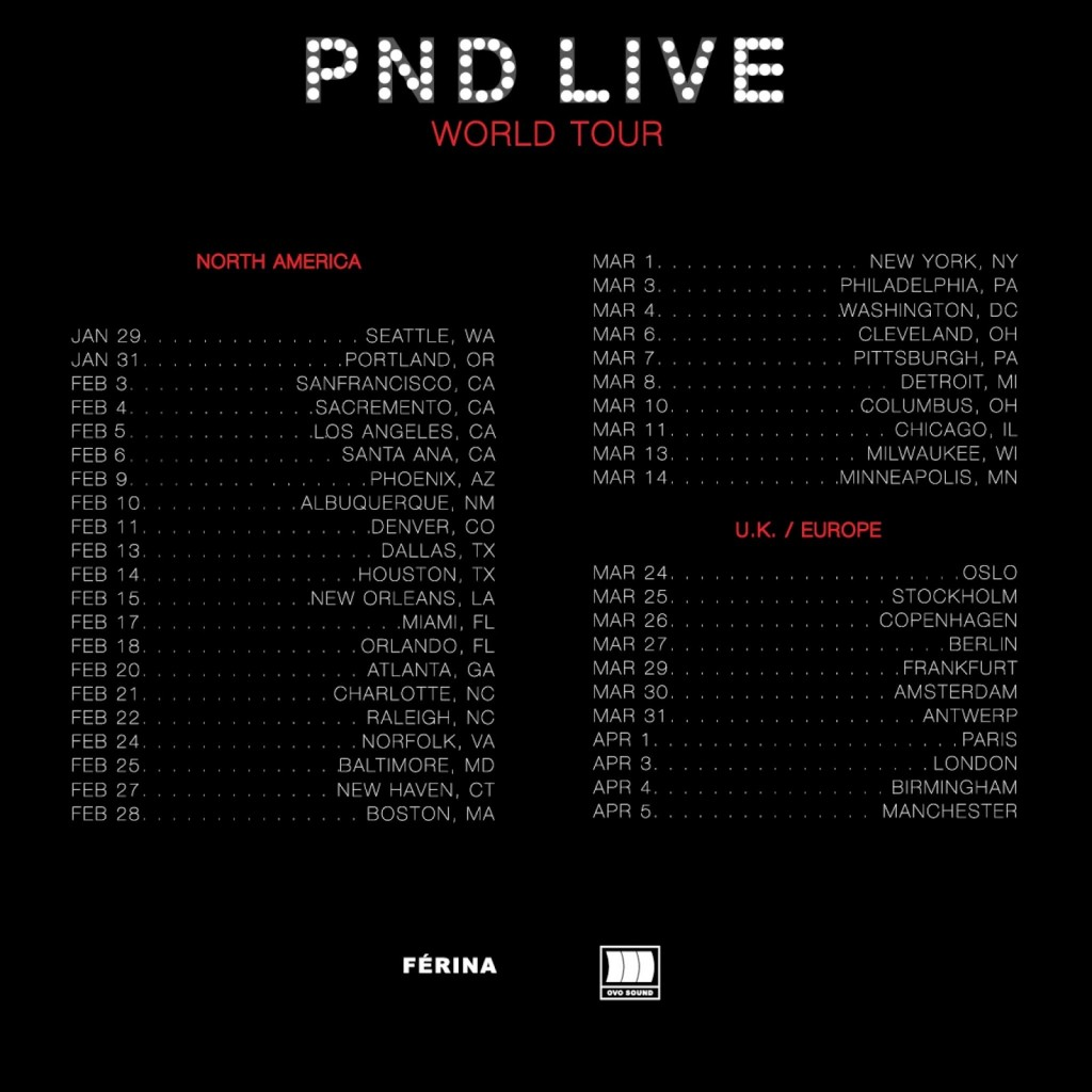 PND Live World Tour