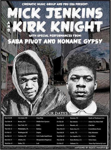 Mick Jenkins Kirk Knight Saba tour