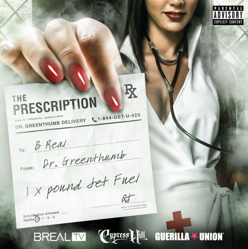 B Real - The Prescription cover