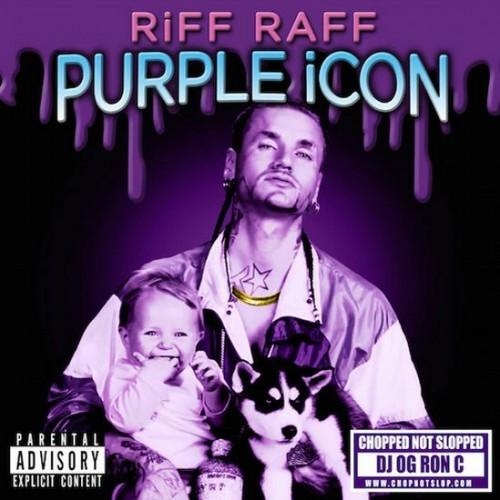RiFF RAFF - PURPLE iCON cap
